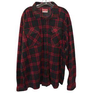 Wrangler Premium Quality Thick Flannel (Sz: XXL)